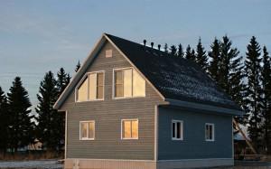 Построен каркасный дом в Светогорске