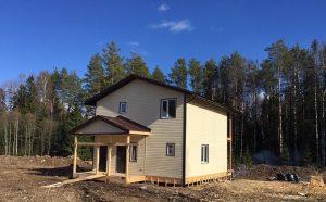Достроили отличный 2 этажный дом 150 м²