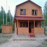 Достроен каркасный дом в СПб