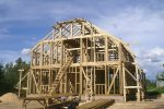 Строим каркасный дом в Коккорево