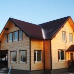 Каркасный дом декабрьский
