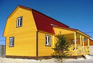 Каркасный дом в Приозерске