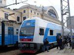 Наследующей неделе между Харьковом иКиевом будет курсировать электропоезд Skoda