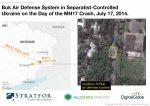 Появилось видео транспортировки «Бука» вдень катастрофы МН17 наДонбассе