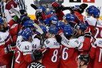Чехия сыграет сСША впервом четвертьфиналеЧМ похоккею