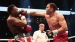 Британский боксер Чисора устроил потасовку ссоперником надуэли взглядов