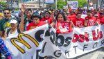 Штаб-квартира McDonald's закрылась из-за протестов служащих