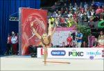 Русская спортсменка одолела наэтапе Кубка мира похудожественной гимнастике